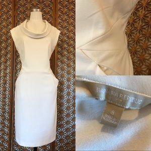 Banana Republic Factory Ivory Dress Size 8
